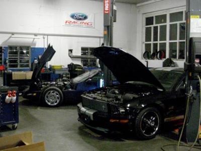 Mustang & Corvette